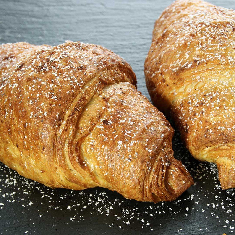 French Toast aus Nuss-Nougat-Croissant