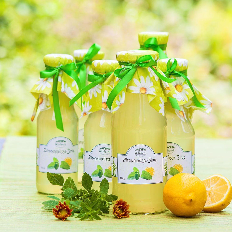 Zitronen-Melisse-Sirup