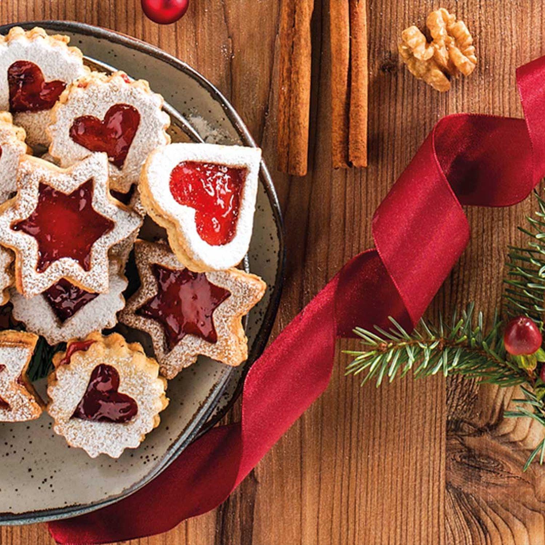 Erdbeer-Nuss-Kekserl
