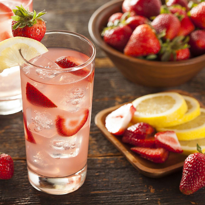 Erdbeer-Zitronen-Vodka