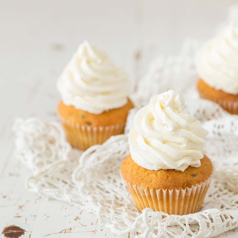 Karotten-Cupcakes