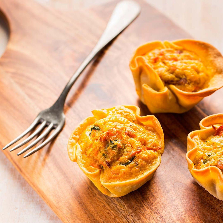 Karotten-Tartelettes
