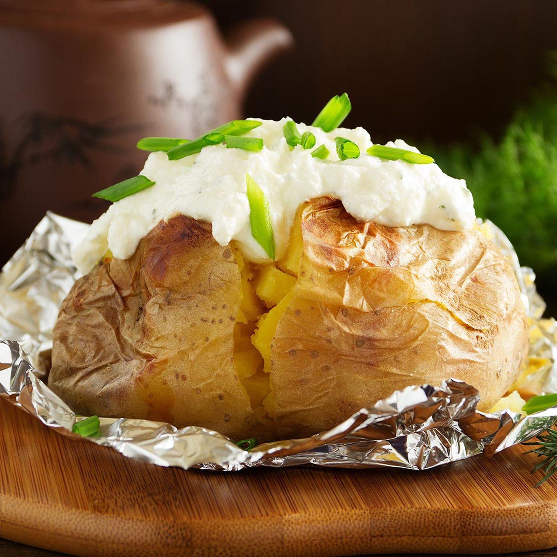 Ofenkartoffeln mit Feta-Kräutercreme