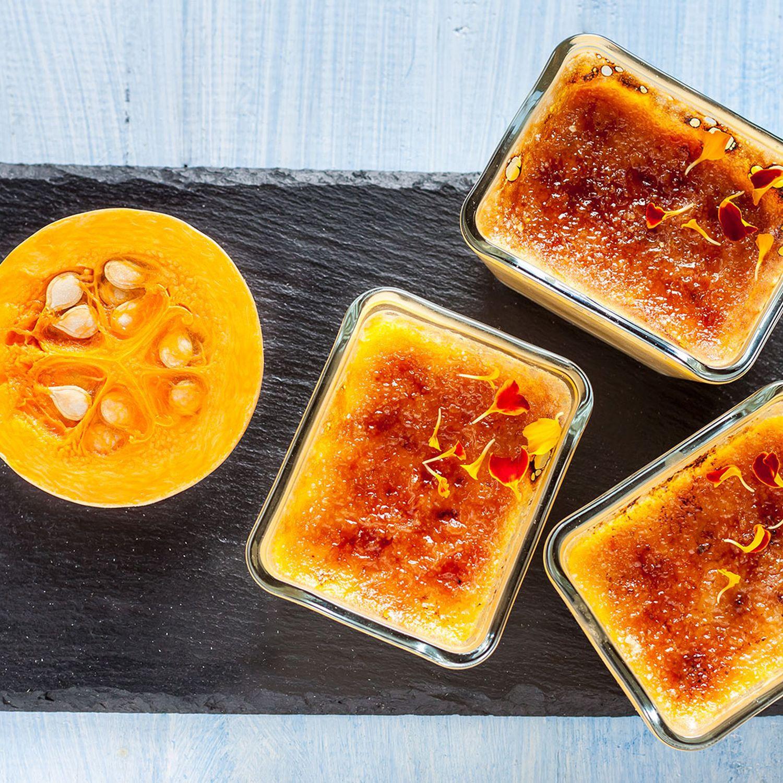 Butternuss-Kokos-Crème brûlée