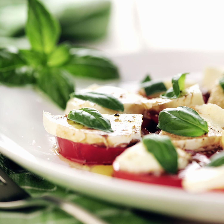 Caprese-Salat für zwei Verliebte