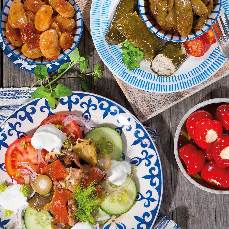 Oktopus-Salat Santorini