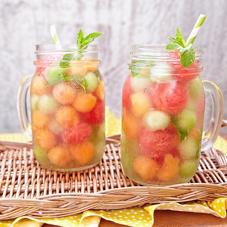 Melonenbowle mit Ingwer