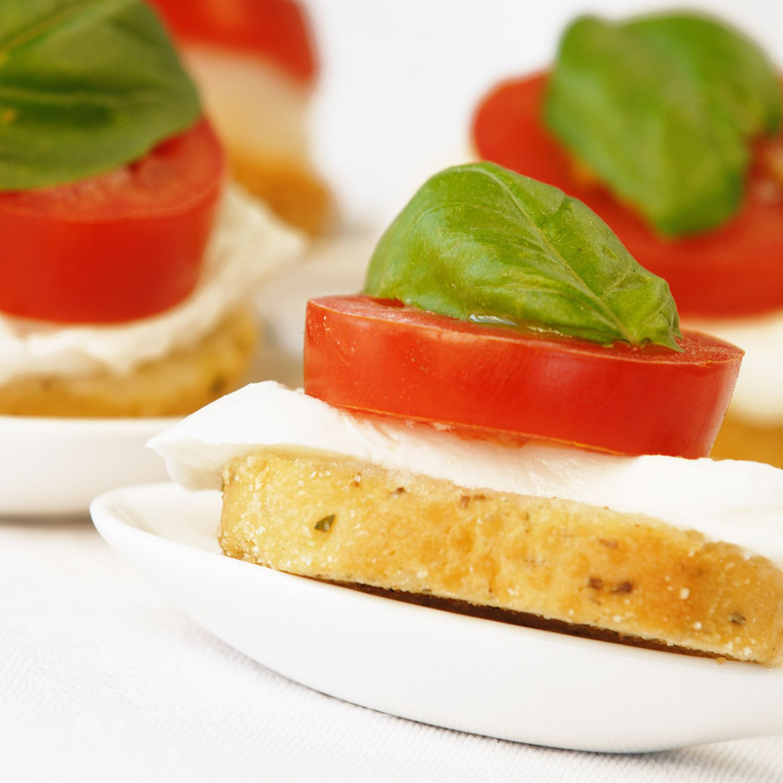 Pute-Mozzarella-Häppchen