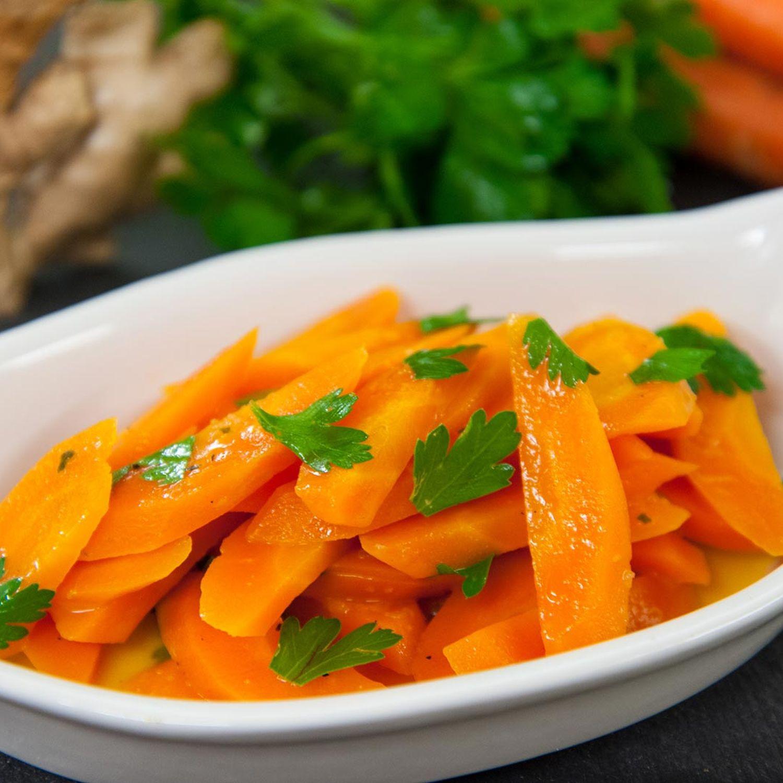 Indisches Karottengemüse