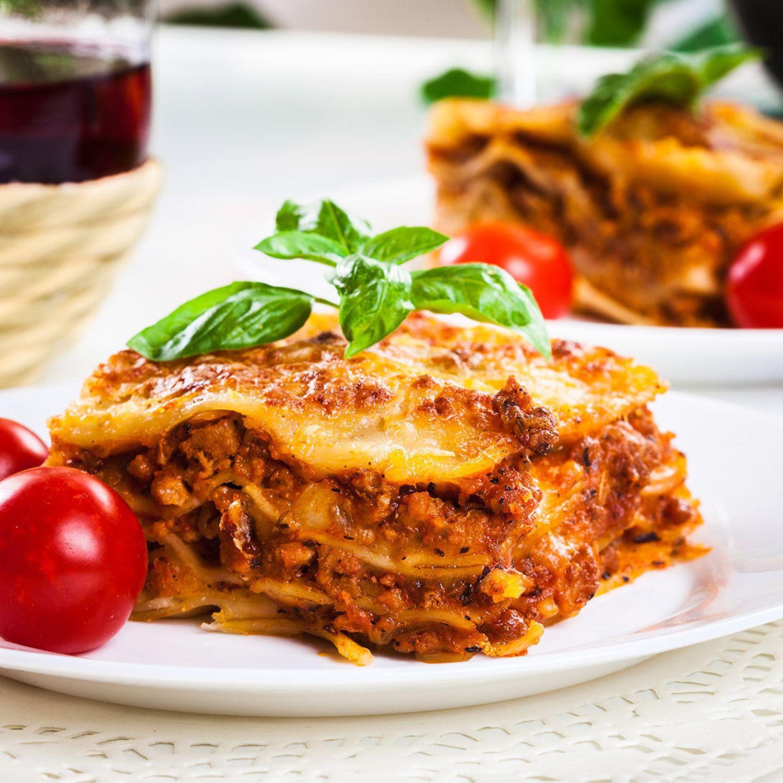 Lasagne mit Schuhbecks Nudelgewürz