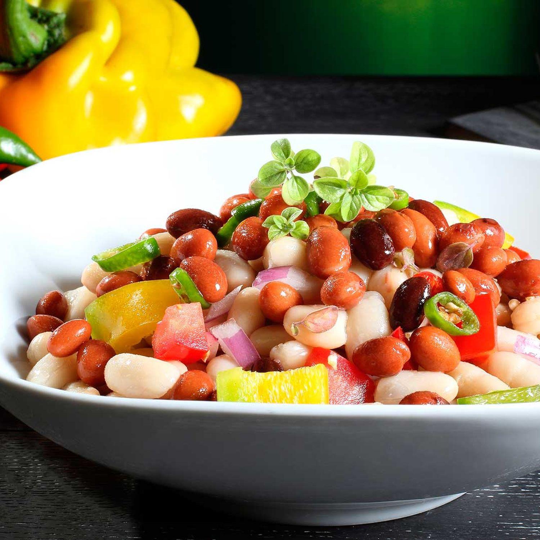 Paprika-Bohnen-Salat