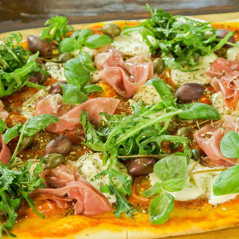 Schmankerl-Pizza