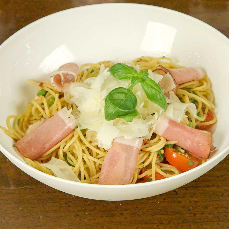 Spaghetti mit Toskanischem Nudelgewürz