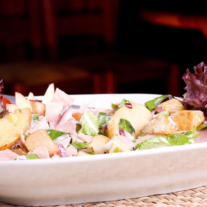 Wurstsalat mit Brotzeitgewürz