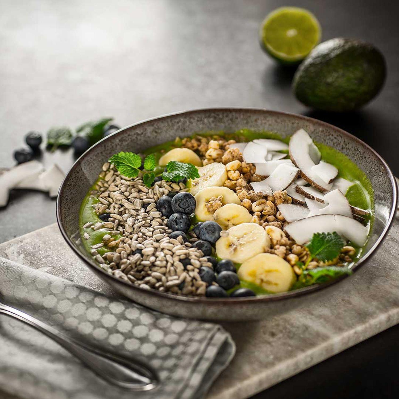 Grüne Superfood-Bowl