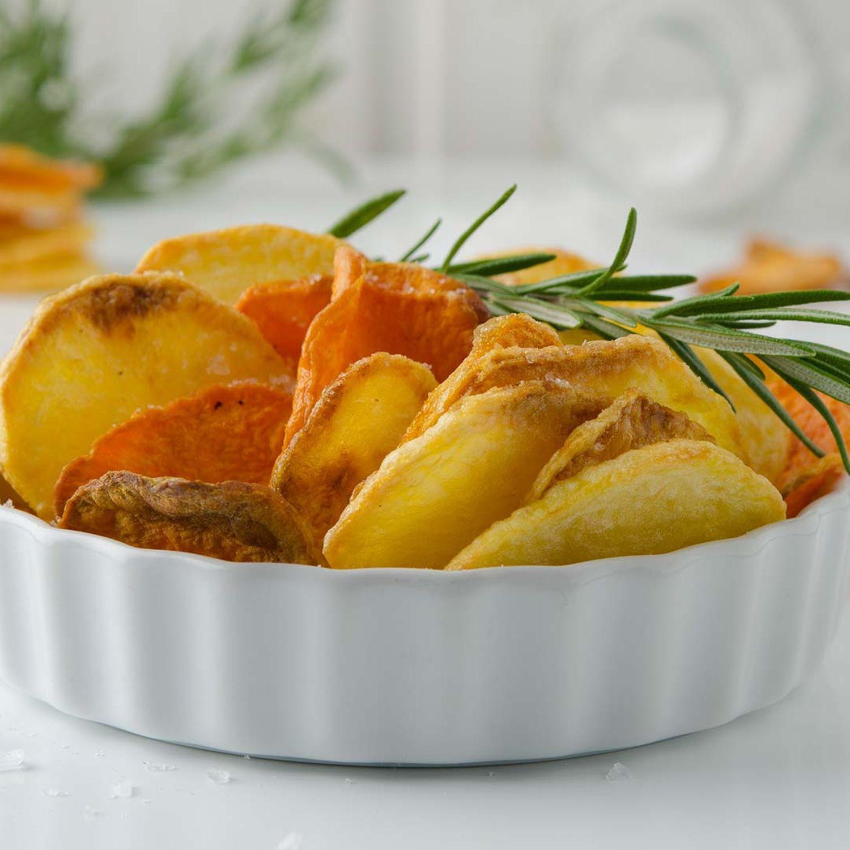 Erdäpfel- und Gemüsechips