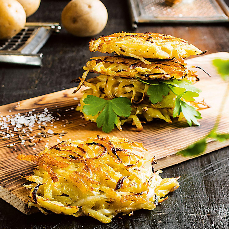 Frühlingskraut Kartoffelpuffer