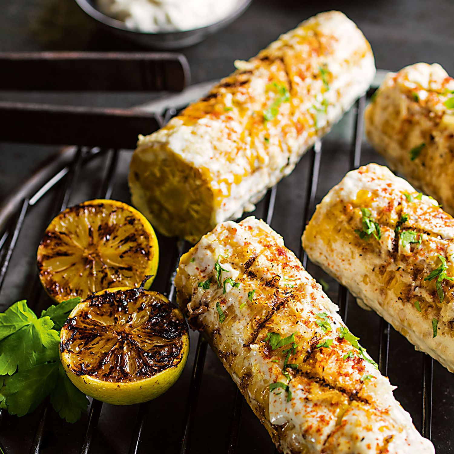 Mexican Grilled Corn-Maiskolben