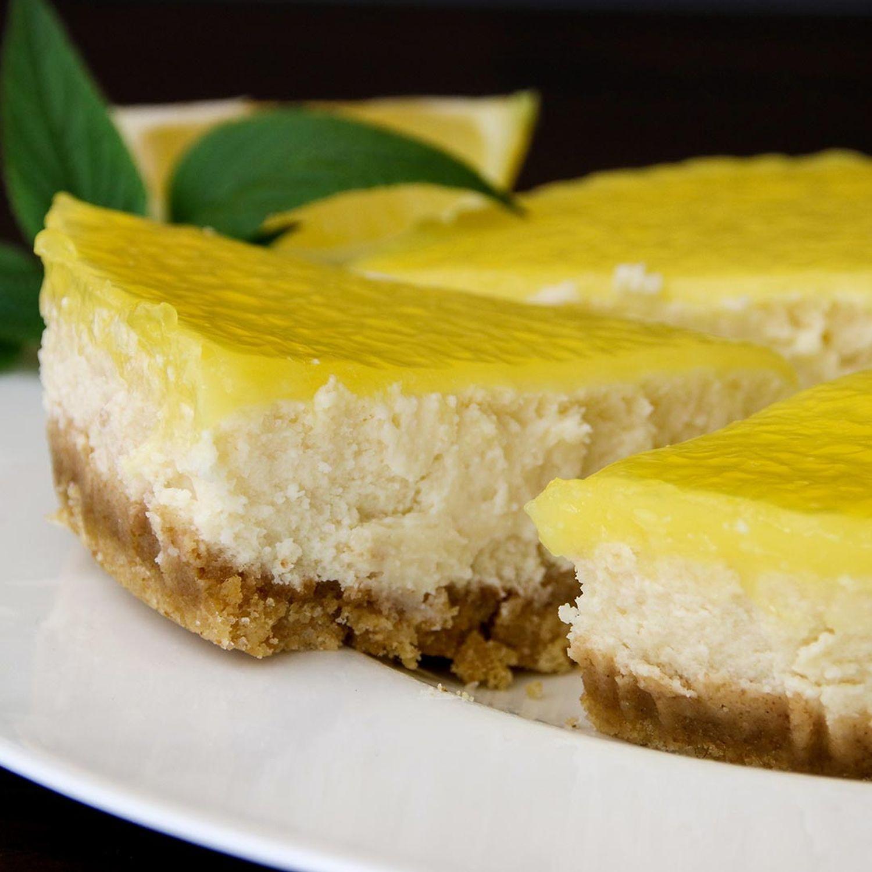 Zitronen-Topfen-Torte no-bake