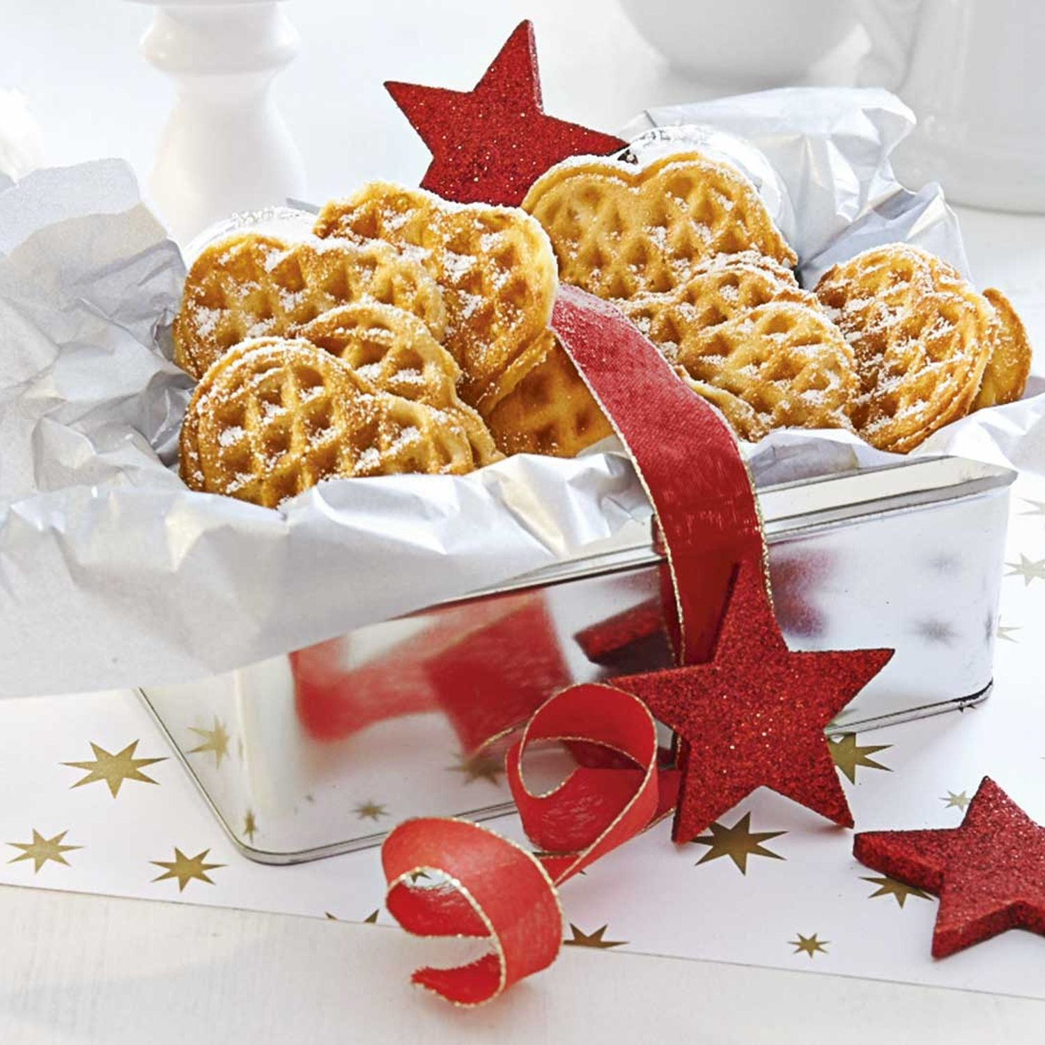 Advent-Waffeln