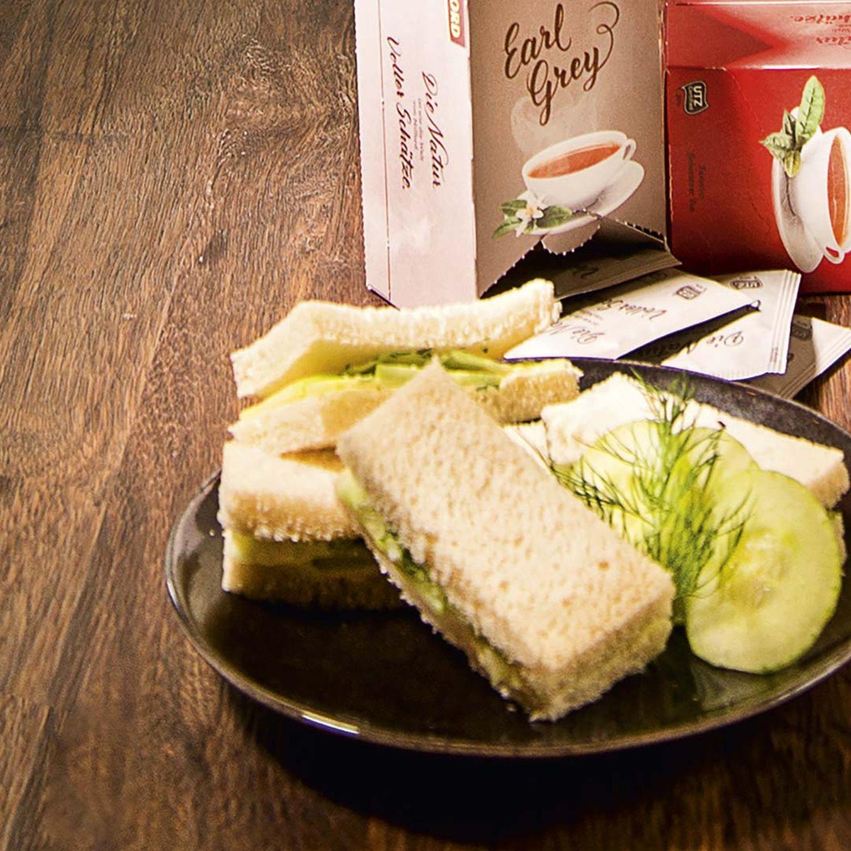 Englisches Gurken-Sandwich