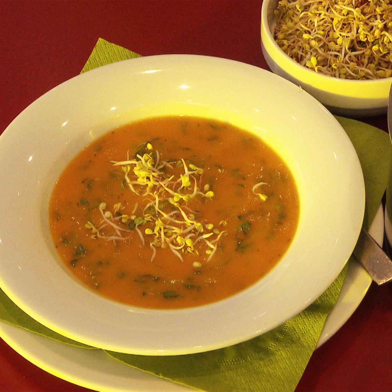 Karottensuppe nach den Fünf Elementen