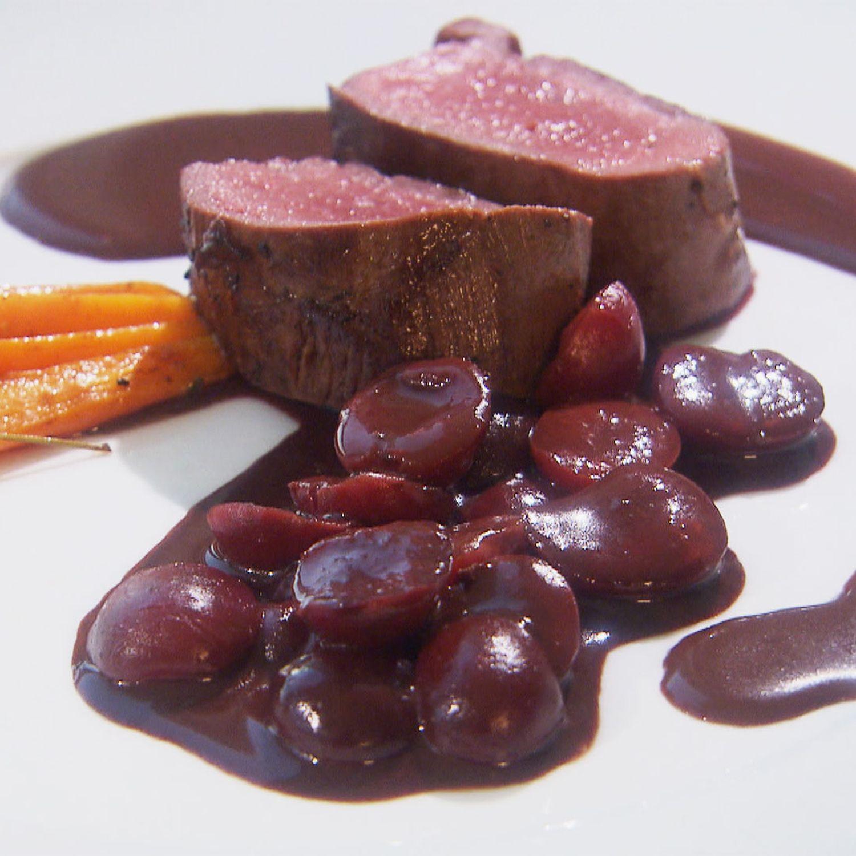 Rotweinkirschen süß und pikant