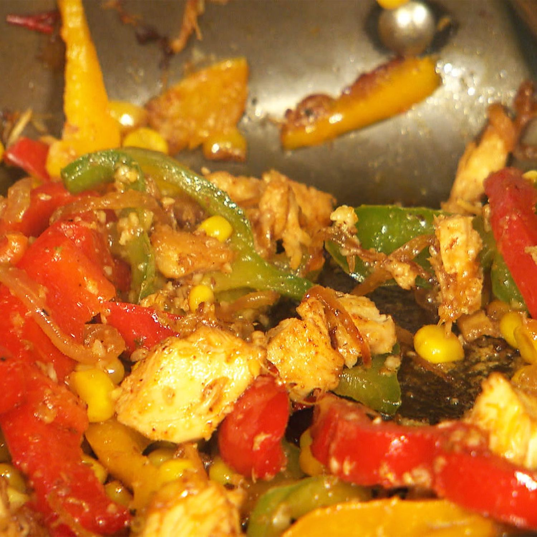 Chilinos Chicken Fajitas