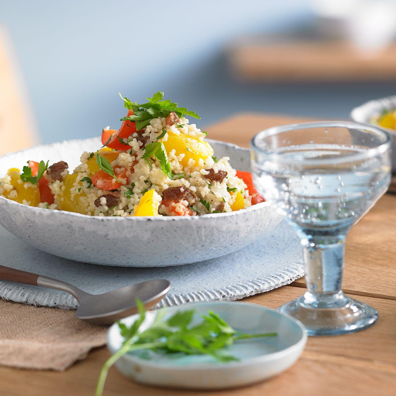 Orientalische Couscous Pfanne