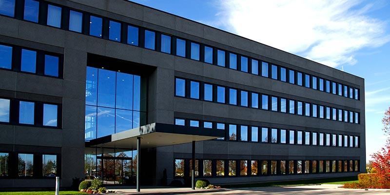 Die Fassade der Hauptniederlassung in Sattledt.