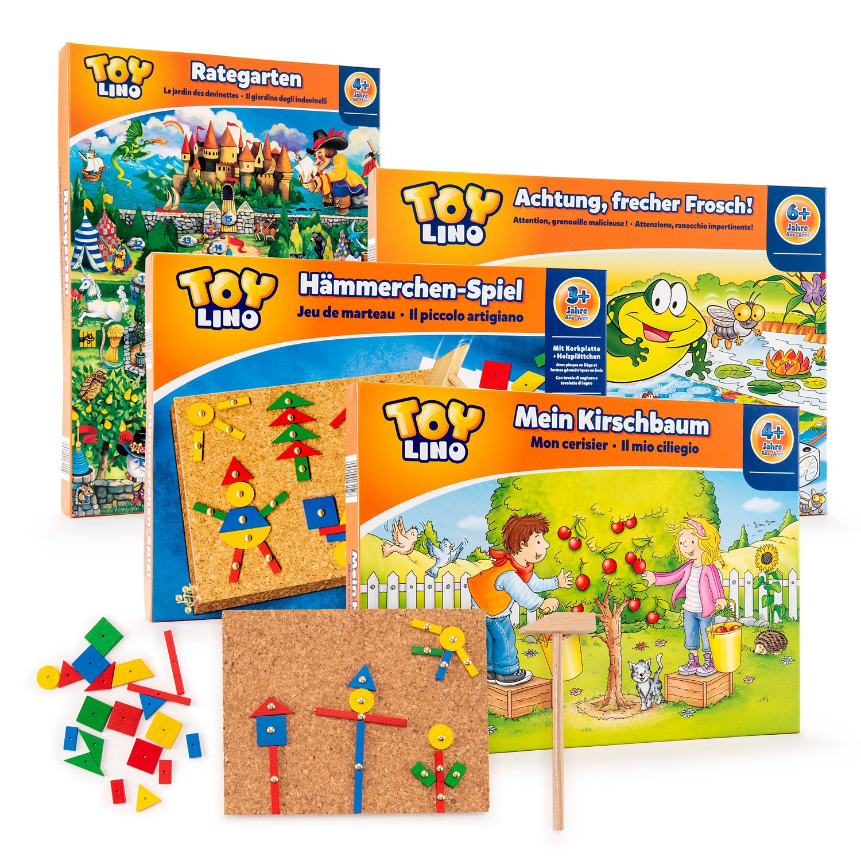 TOYLINO Kinder Familien Spiele | HOFER