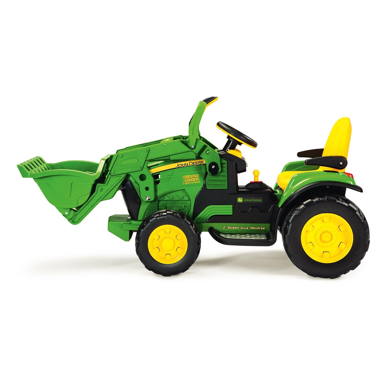 JOHN DEERE Elektro-Traktor mit Frontlader