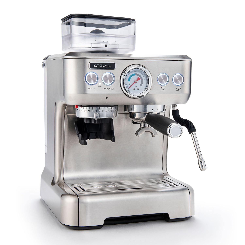 AMBIANO Espresso-Maschine mit integriertem Mahlwerk