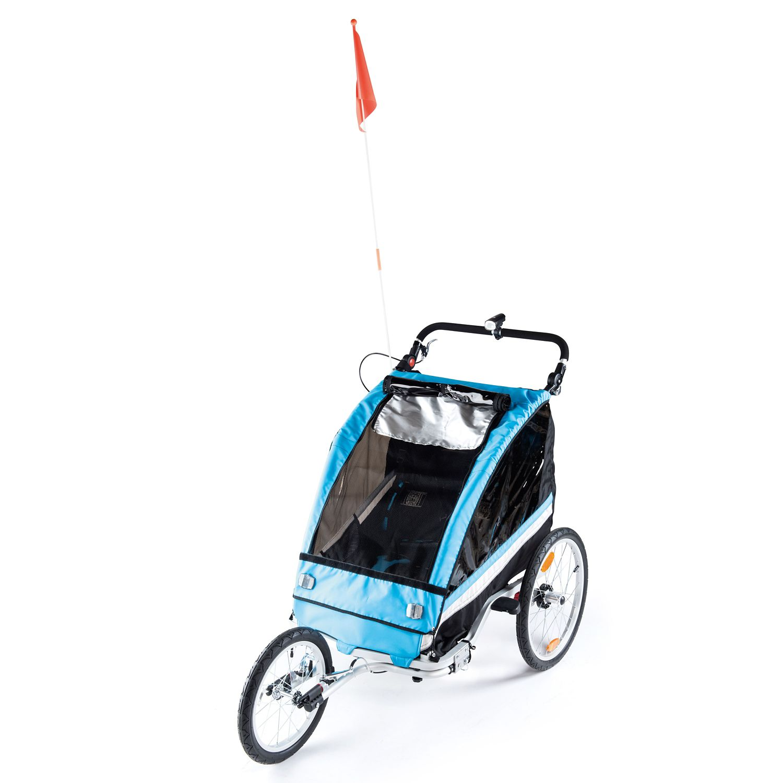 INOC Premium Kinder Fahrradanhänger | HOFER