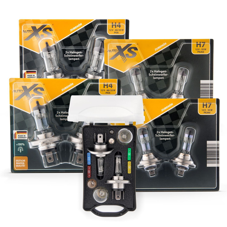 AUTO XS Premium Auto-Ersatzlampen-Set