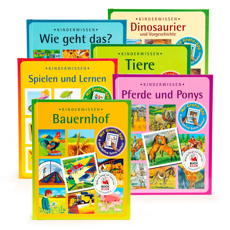 Wissensbuch für Kinder mit App