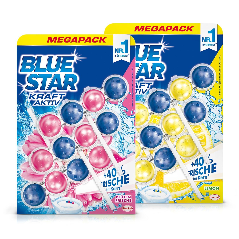 BLUE STAR WC-Beckensteine