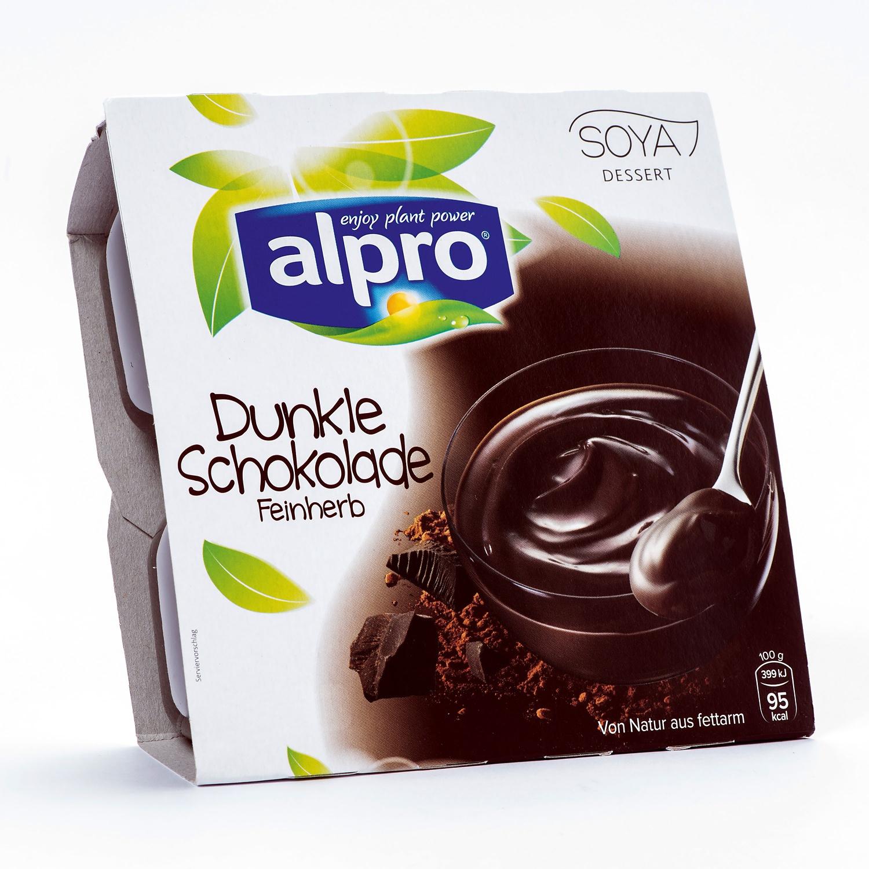 ALPRO Sojadessert, Dunkle Schokolade
