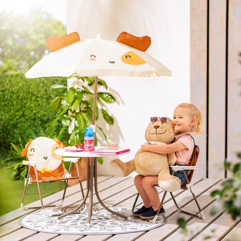 Gardenline Kinder Gartenmobel Set Hofer