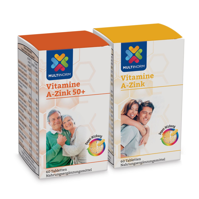 MULTINORM Vitamine A-Zink