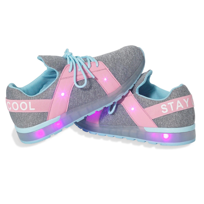 ALIVE Kinder-Schuhe mit Blinkfunktion für Mädchen