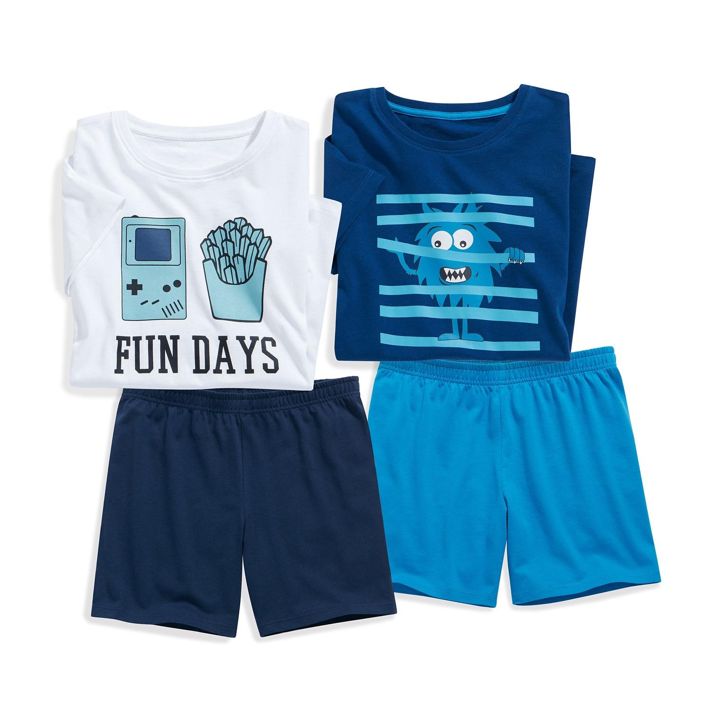 ALIVE Kinder-Shorty-Pyjama, Baumwolle (Bio) für Jungen