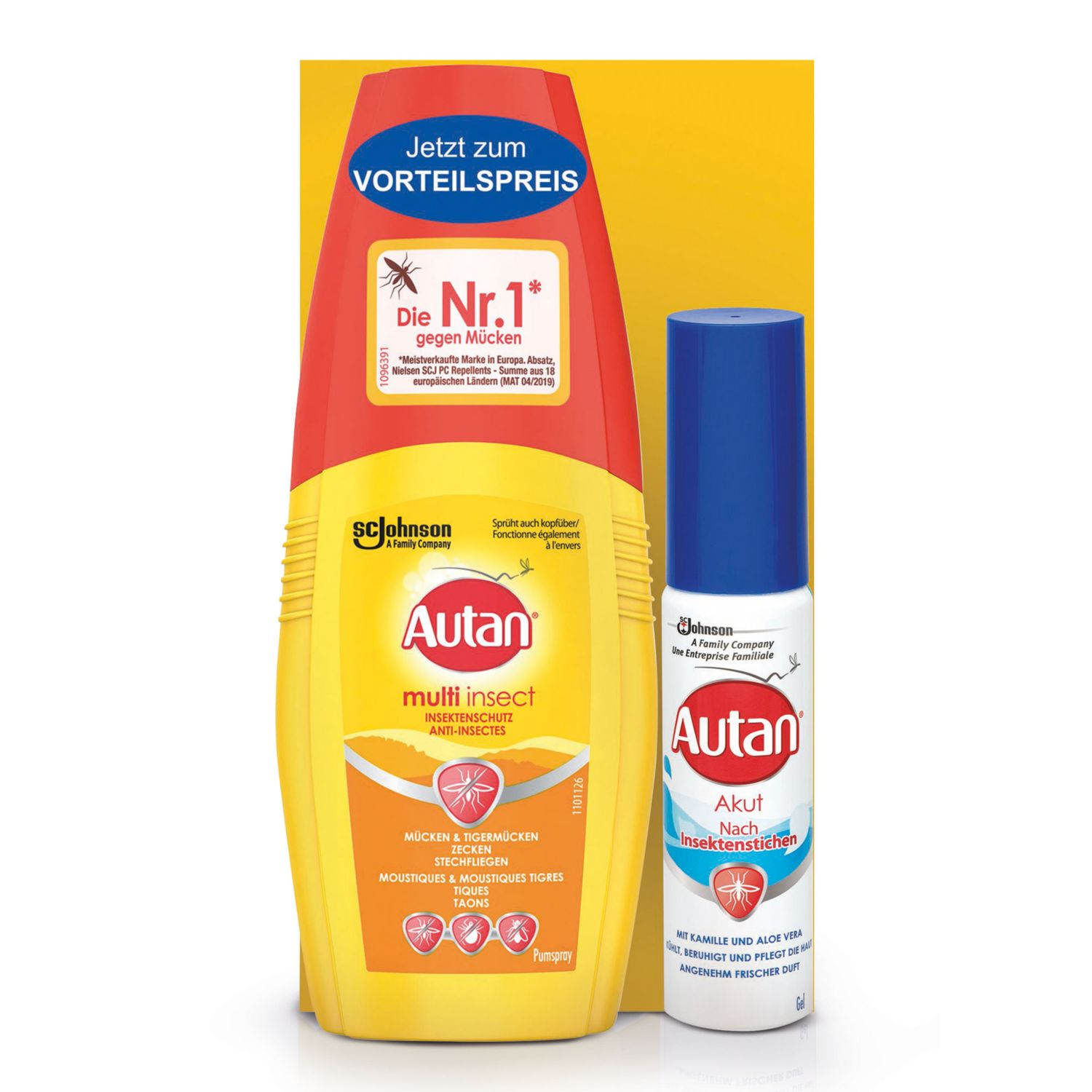 AUTAN Insektenschutz-Set Protection Plus