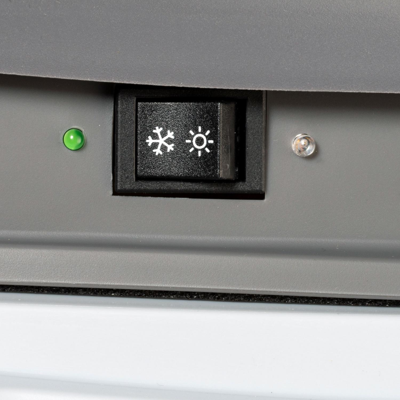 ADVENTURIDGE Elektrische Kühlbox Blau