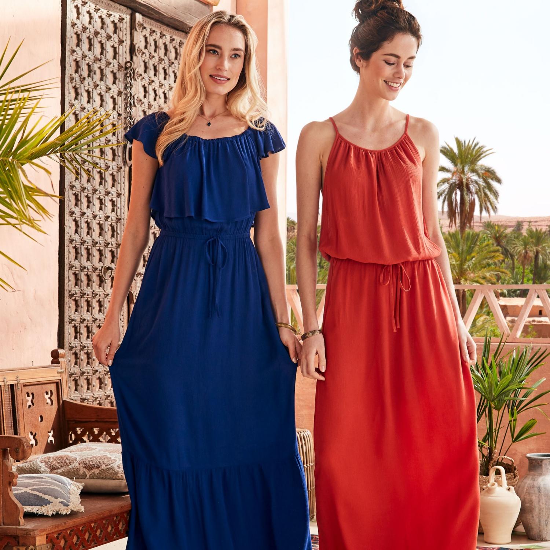 BLUE MOTION Damen-Viskosekleid