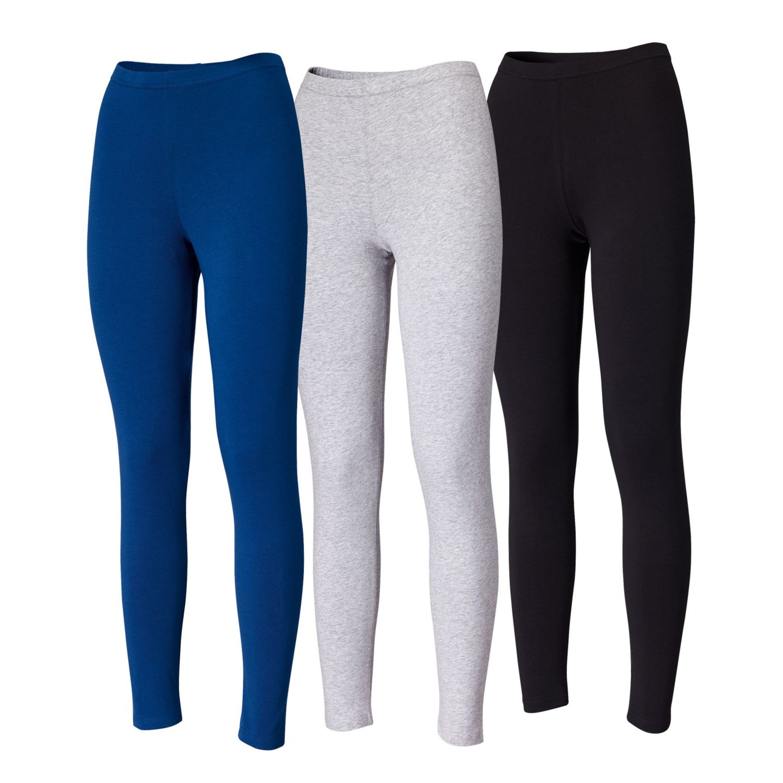 BLUE MOTION Damen-Leggings, Baumwolle (Bio)