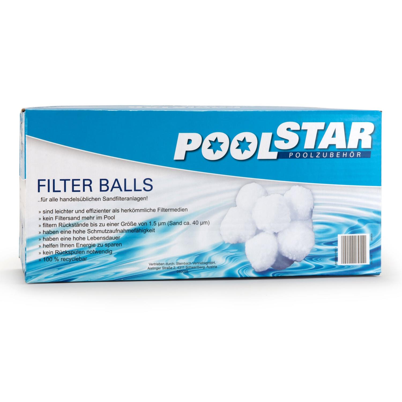 POOL STAR Filter Balls für Sandfilteranlagen