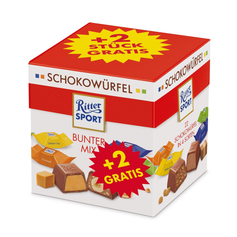 RITTER SPORT Schokowürfel, Bunter Mix