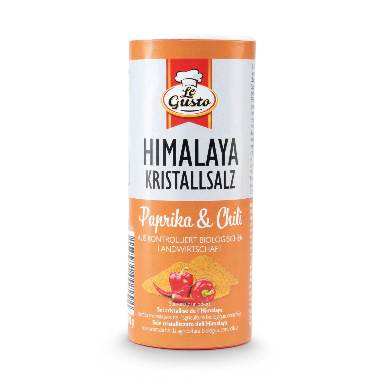 LE GUSTO Himalaya-Kristallsalz mit Bio Paprika & Chili