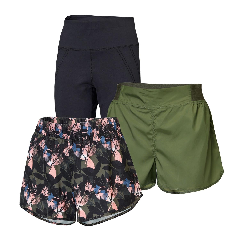 CRANE Damen-Fitness-Shorts
